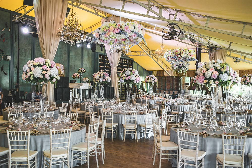 Свадьба на веранде в Москве