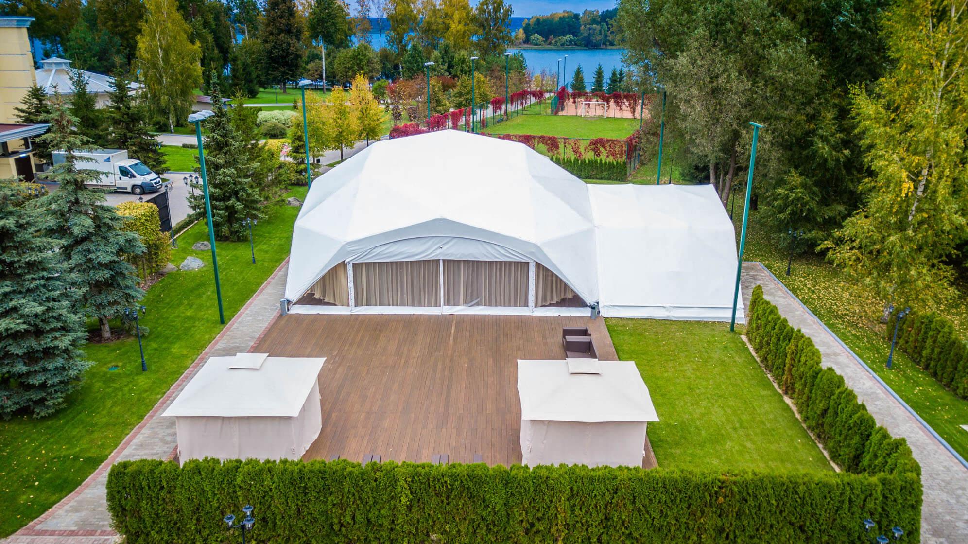 Свадебный шатер: плюсы и минусы