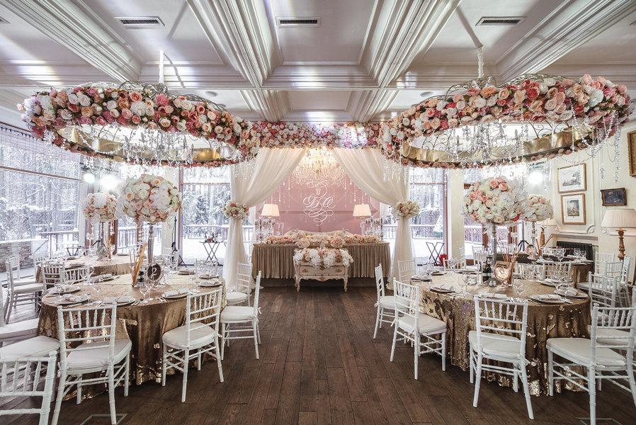 Организация свадьбы в ресторане Подмосковные вечера