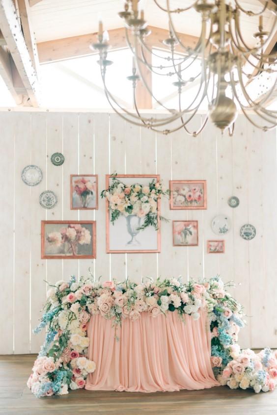 Свадебный прованс