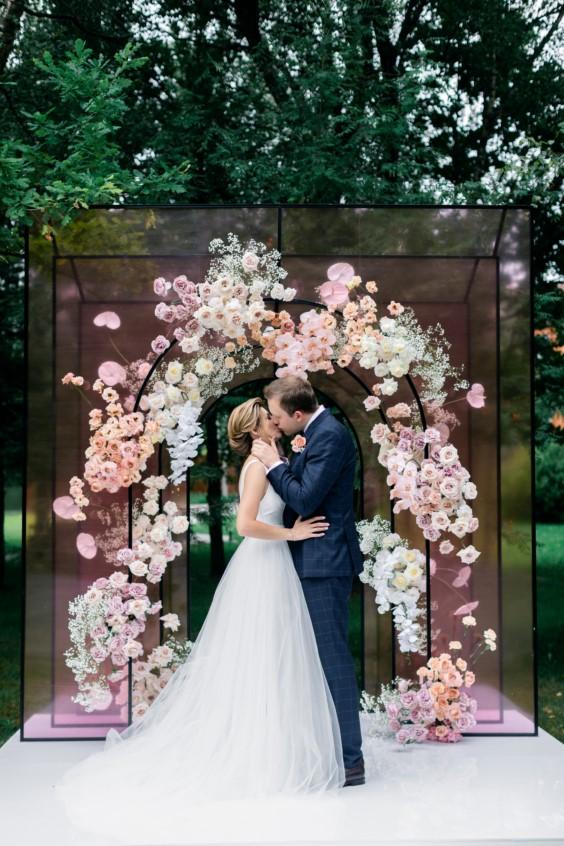 цена на цветочное оформление свадьбы