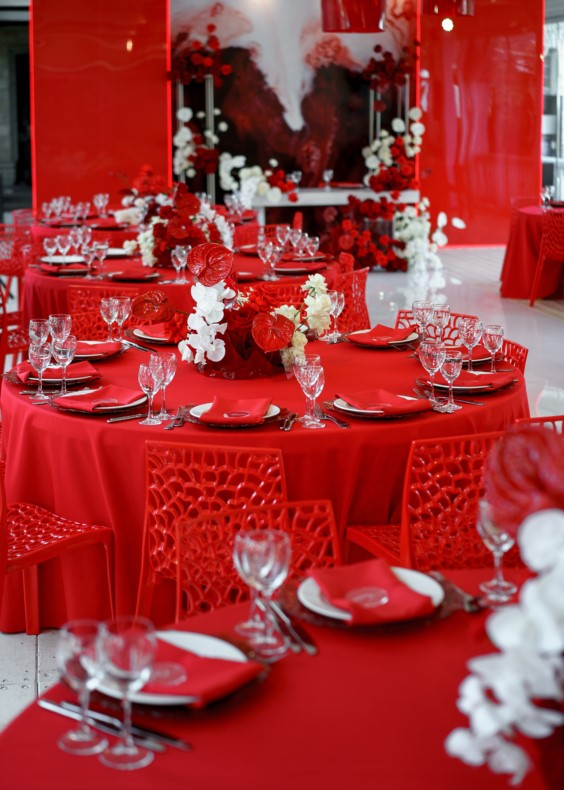 Цвет оформления свадьбы