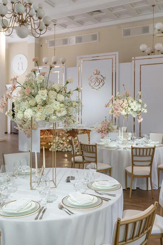 Какие банкетные залы для свадьбы есть в Москве