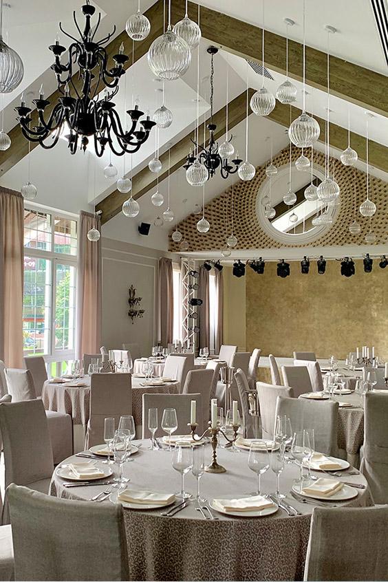 Свадьба в ресторане Калина кантри