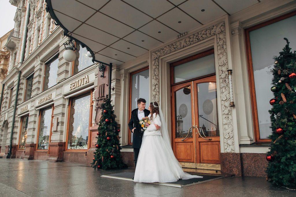 """Гостиница """"Националь"""" - свадьба с видом на Кремль"""