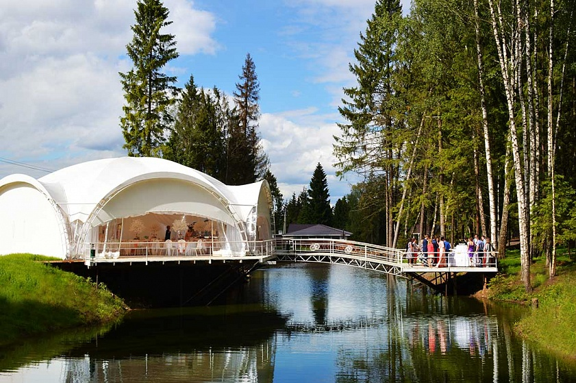 Бабин двор - свадьба на природе в ближнем Подмосковье